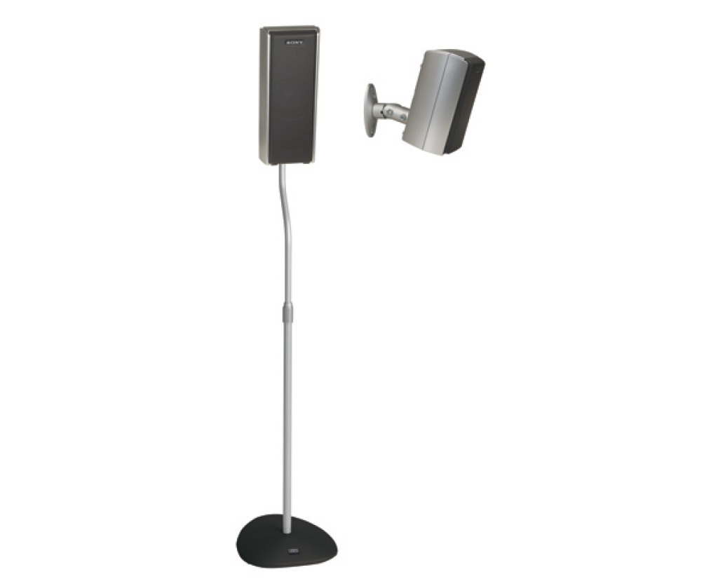 sanus vuepoint htbsw home theater series speaker stands speaker stands products sanus vuepoint - Sanus Speaker Stands