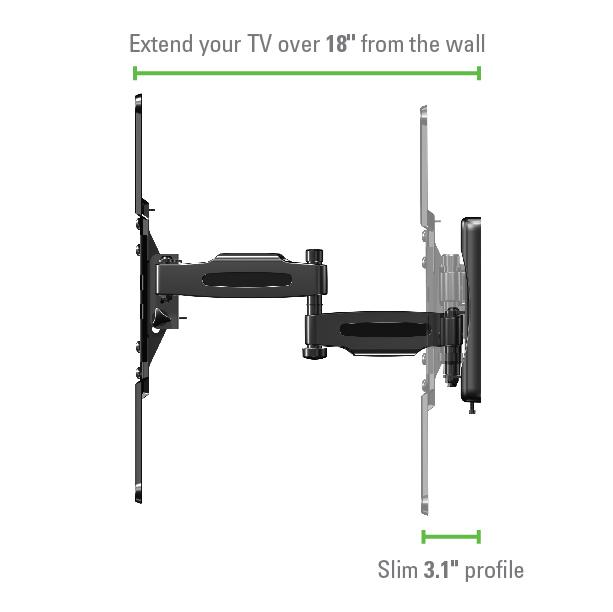 Sanus Vuepoint Flf118 Full Motion Wall Mounts Mounts