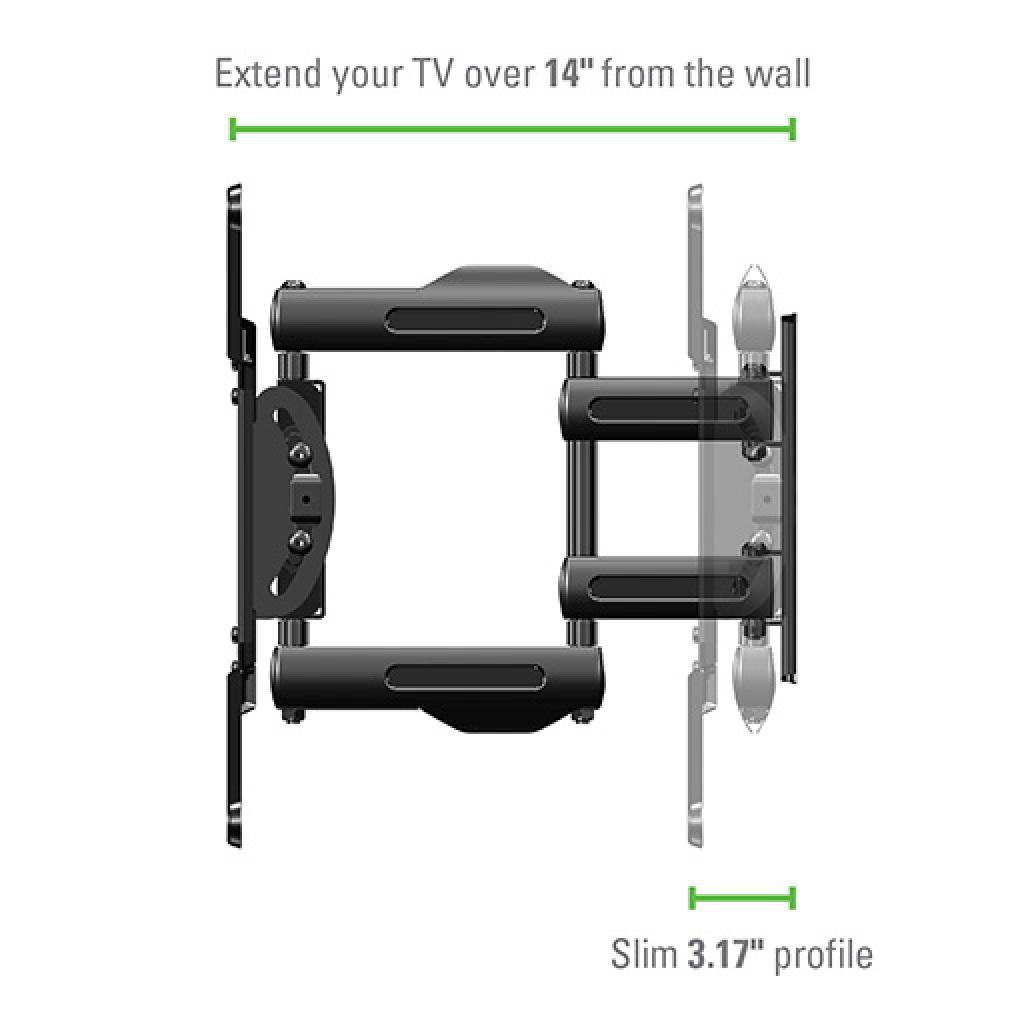 Sanus Vuepoint Flf215kit Full Motion Wall Mounts